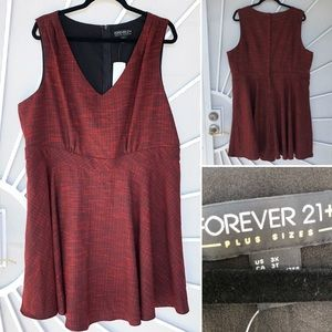 💝NEW 3x stretchy forever 21 dress.
